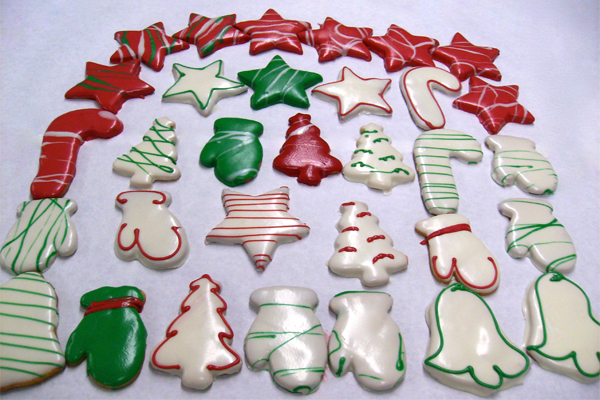 Frosted Christmas Cookies | MB Desserts